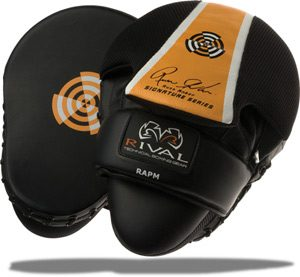 Guantes Mitts Rival High Performance Series de Russ Anber